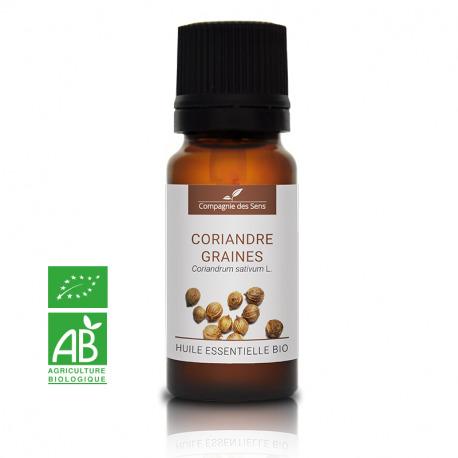 CORIANDRE GRAINES - Huile essentielle BIO