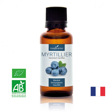 MYRTILLIER - Macérat de bourgeons BIO